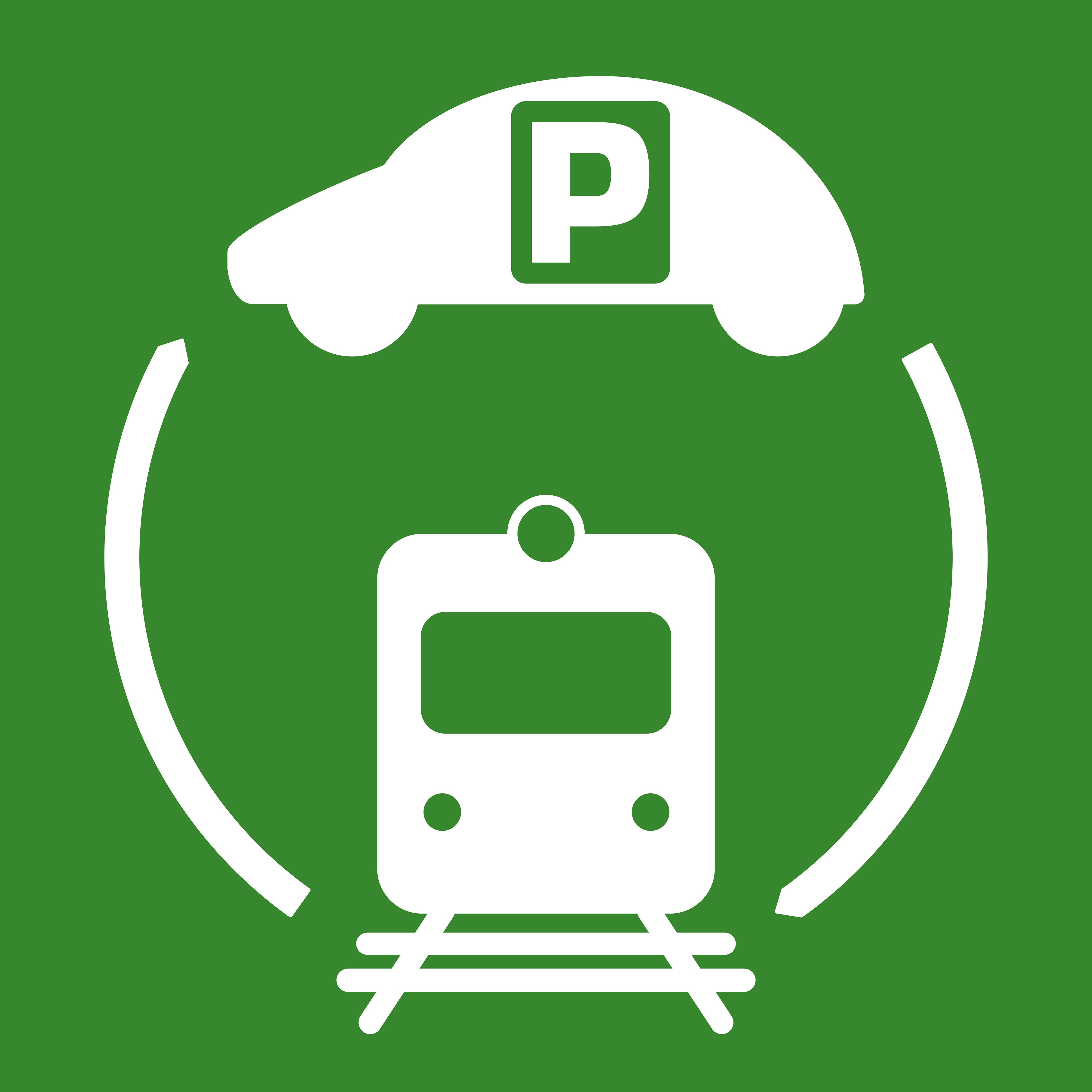 Logo totem estació